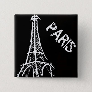 BUTTON- Paris Pinback Button