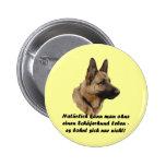"""Button """"perro pastor """" pin"""