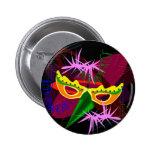Button,Pin,Brooch-Mardi Gras