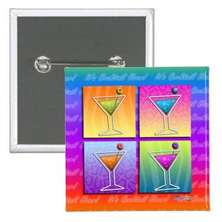 Button - Pop Art Martinis