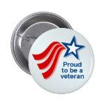 BUTTON_proud2b_veteran 2 Inch Round Button
