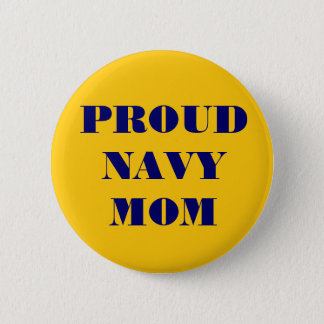 Button Proud Navy Mom