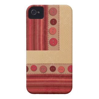 Button Quilt Blackberry Bold Case