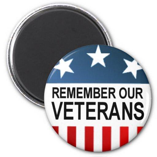 BUTTON_remember_veterans Imán Para Frigorifico