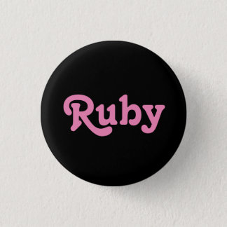 Button Ruby