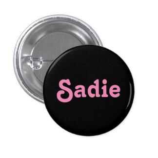 Button Sadie