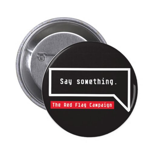 Button-Say Something (bubble quote) Button