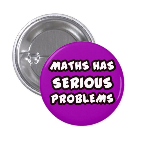 Button SERIOUS PROBLEMS Pin