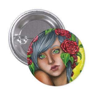 Button - Spring Rose
