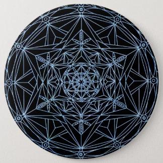 Button star abstract mandala
