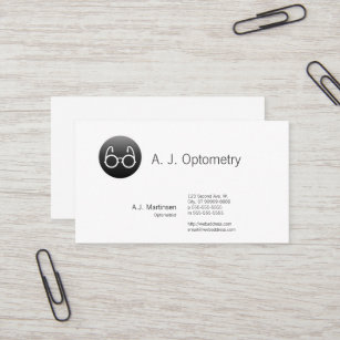 Old fashioned business cards zazzle button style old fashioned glasses business card colourmoves