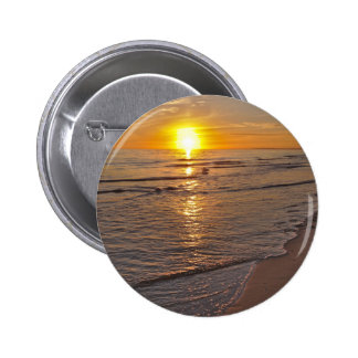 Button: Sunset by the Beach Button