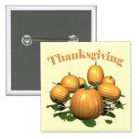 Button - Thanksgiving Pumpkin Patch