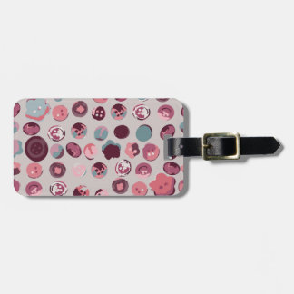Button tin bag tag