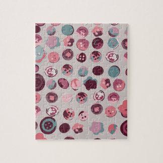 Button tin jigsaw puzzle