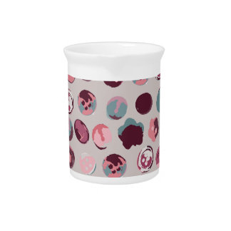 Button tin pitcher