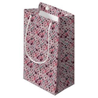 Button tin small gift bag