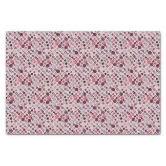 Button tin tissue paper