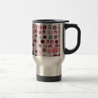 Button tin travel mug