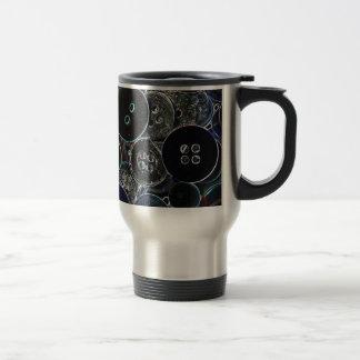 Button Travel Mug
