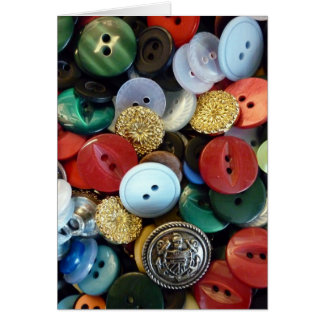 Button Treasures #2 Greeting Card