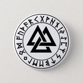 button Tri-Triangle Rune Shield