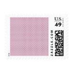 Button Up Pink And Purple Dots Postage Stamps