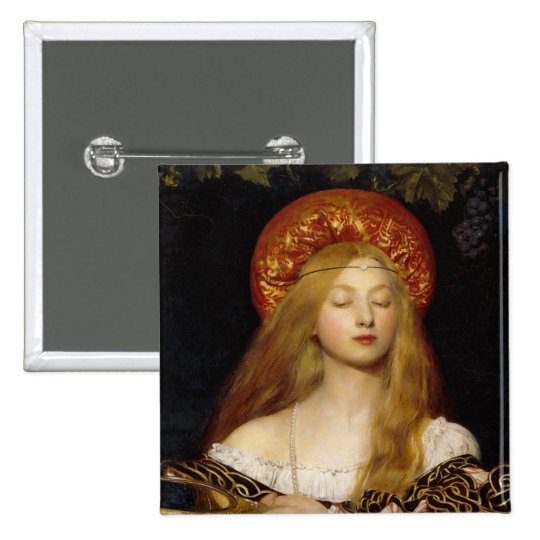 Button: Vanity - by Frank Cadogan Cowper Button