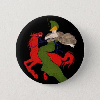 Button: Vintage Ad by Cappiello - Chocolat Klaus Button