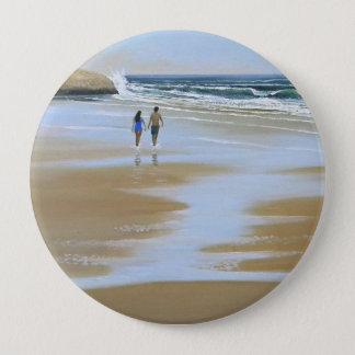 Button ~ Walking The Beach