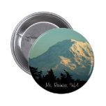 Button: Winter Mt. Rainier Button