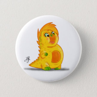 "Button with ""B"" Monster Character"