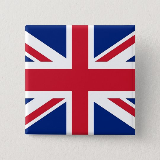 Button with Flag of the United Kingdom