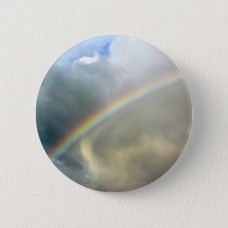 Button with photo of pretty rainbow