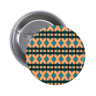 Button with Southwestern Design