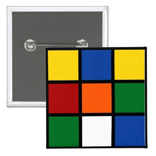 Button Zauberwürfel/Magic Cube Pin