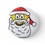 Santa emoticon   buttons