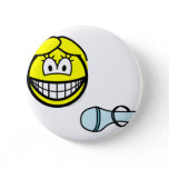 Cinderella smile lost slipper  buttons
