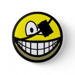 Bearded pirate smile   buttons
