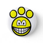 Paw print smile   buttons