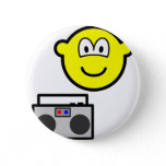 Boom box radio buddy icon   buttons