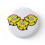 Synchronized swimming buddy icon Olympic sport Aquatics buttons