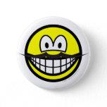 Mustache smile   buttons