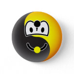Ying Yang emoticon [Black/White]  buttons
