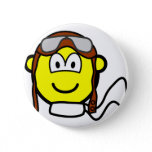 Pilot buddy icon Old fashioned  buttons
