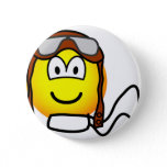 Pilot emoticon Old fashioned  buttons