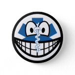 EMT smile Emergency Medical Technician  buttons