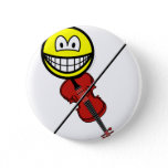 Violin playing smile   buttons