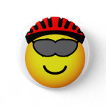 Biker emoticon glasses  buttons