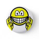 Fingers crossed smile   buttons